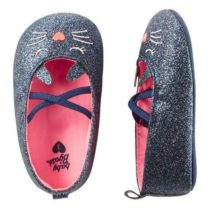Oshkosh sparkle cat crib shoes