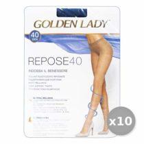Golden Lady Repose Set 10 Repose Tights 40DEN Melon Size II 36G
