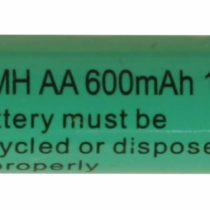 Star 1.2 V 600 mAh AA Ni-MH Rechargeable Battery for Solar Products