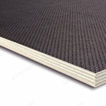 Builder Merchant 9mm x 610mm x 300mm Birch Phenolic Anti Slip Plywood 9mm 2x1ft, Package Quantity: 1 Sheet, 610mm x 300mm (2ft x 1ft)