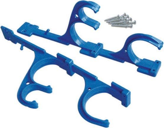 Kokido K079BL–Set 2Hangers for pértigas with Screws