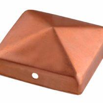 CONNEX HV4297 Post caps Copper 90x90mm