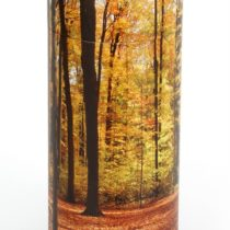 Urns Uk Scattering Ashes Tube Autumn Wood, Medium, 120 Ci