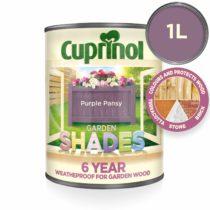 Cuprinol CUPGSPP1L 1 Litre Garden Shades Paint – Purple Pansy