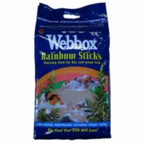Webbox Complete Mixed Pond Sticks Fish Food, 5 kg