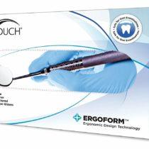 MICRO-TOUCH DENTA-GLOVE Blue Nitrile Dental Examination Gloves, Small (Box of 100)