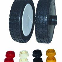 Greenstar Plastic Universal Wheel on Ring, Black, 27210
