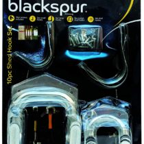 Blackspur Shed Hook Set – 10 Pieces BB-HA117