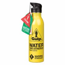 Gulp Water Bottle | Yellow