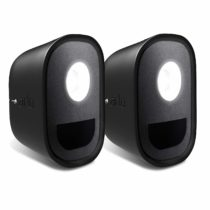 Arlo ALA1000 Smart Home Security Light Skins – Designed for Arlo Security Light, Black, Set of 2