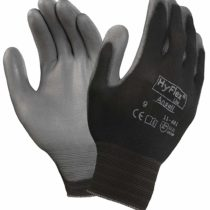 Ansell HyFlex 11-601 Multi-purpose gloves, mechanical protection, Grey, Size 10 (Pack of 12 pairs)