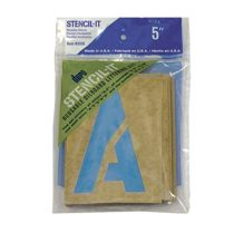 Graphic Products Stencil-It Reusable Lettering Set-5-inch, 5, 5 Inches