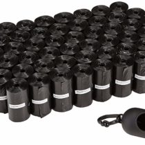 Amazon Basics Dog-Waste Bags with Dispenser and Lead Clip, 900-count