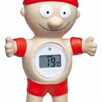 TFA-Dostmann Bath Thermometer, Plastic, red, 9.5x 4x 14cm