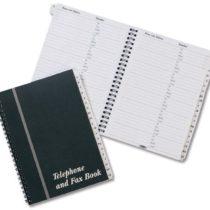 Concord CD10  Address Book Wirebound Board Cover A5 Ref 87110