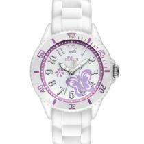 Ser Girls' Analogue Quartz Watch with Silicone Strap – SO-2755-PQ