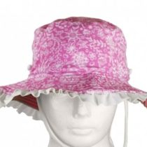 Sun Emporium Girl's Summer Garden Print UV Sun Hat