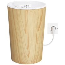 Bluelounge CableBin for Cable Management – Light Wood
