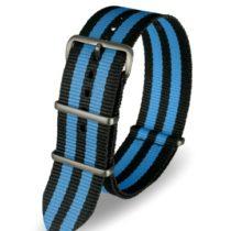 Davis Unisex Watch Display and Synthetic Strap BNN3B-Black/Blue-24