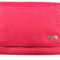 Danielle Creations Weave Foldout Traveller Cosmetic Bag – Hot Pink
