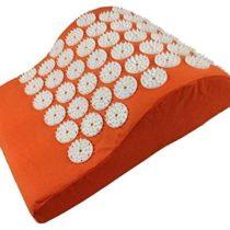 Akupressurkisse Entspannungskissen Acupressure Vital Neck Cushion Orange