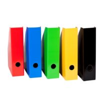 """""""Colour"""" LANDRE Magazine File Slim 5 Assorted Colours"""
