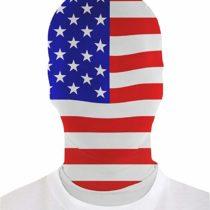 2nd Skin Adult MorphMask United States Skinz Fancy Dress