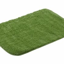 Athens Home Non-Slip Cotton and American Towel Bath Mat, 50 x 75 Centimetres, Sea Green 60 x 90 cm Verde agua