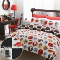#Bedding Alfonso Duvet Cover Set, Red, King