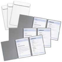 Pagna Set of 3 Job Application Files Special Grey