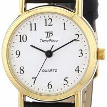 TP Time Piece Women's Quartz Watch Classic TPLA-32331-12L with Leather Strap