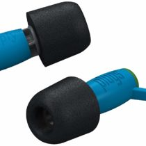 Comply SonicFilters Acoustic Filter Hearing Protection Ultra-Soft Secure Fit Earplugs, Blue/Black