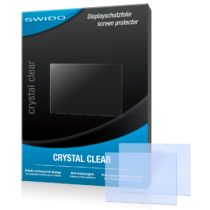 2 x SWIDO Crystal Clear Screen Protector for Nikon Coolpix L620 / L-620 – PREMIUM QUALITY (crystalclear, hard-coated, bubble free application)