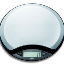 ADE Anja Digital Kitchen Scale, 5 kg, Stainless Steel, Silver, 30 x 11.7 x 2.2 cm