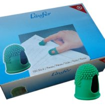 'Page Turner with Fine Rubber Latex Free, Box of 100 12 mm Grün