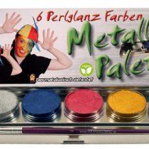 CREATIVE 190607 Corvus Make-Up 6 Brill. Col. Metal Case, Multi-Color
