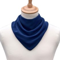 Care Designs Adult Neckerchief Bib in Navy
