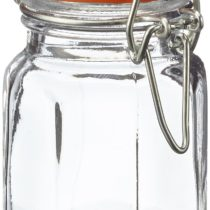 Apollo Glass Spice Jar Set 12 MOP, Multi-Colour, 13x35x16