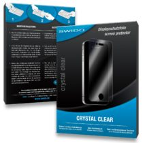 3 x SWIDO Crystal Clear Screen Protector for Garmin nüvi 1490TV / 1490-TV – PREMIUM QUALITY (crystalclear, hard-coated, bubble free application)