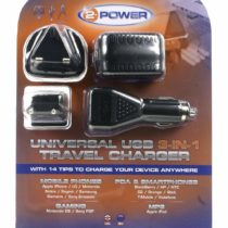 2-Power Universal 3-in-1 Travel Charger Universal Travel Adapter