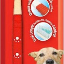 Mikki Dog Puppy, Cat, Kitten Dual Toothbrush for Cleaning Pets Teeth, Small and Large Head