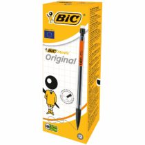 BIC Matic Original 0.7 mm HB Mechanical Pencils – Assorted Body Colours, Box of 12