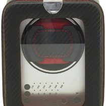 FRIEDRICHI23Leather Watch Winder for Automatic Watches, 3Segments Carbon