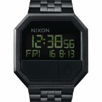 Nixon Unisex Digital Watch with Stainless Steel Strap A158-001-00