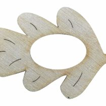 "'Petra's Craft Name From The A SRH300910 10 x WOODEN""Oak Leaf Napkin Holder"