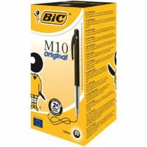 BIC M10 Original Ballpoint Pens Black 50 Box
