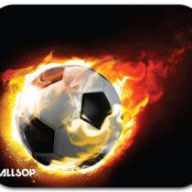 ALLSOP Blazing Football Mouse Pad 06348