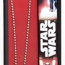 Joy Toy 91639 Star Wars Captain Phasma Slap Band and Necklace with Pendant Set