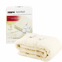 Monogram Komfort Fully Fitted Fleecy Heated Blanket/Mattress Cover – Super King Dual Control 200 x 180cm