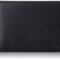 BOSS 50375369, Men's Wallet, Black, 2×7.5×10.5 cm (B x H T)